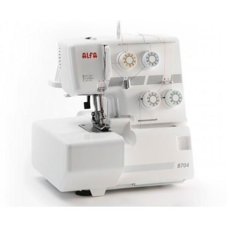 Máquina remalladora (Overlock) Alfa PRO 8704