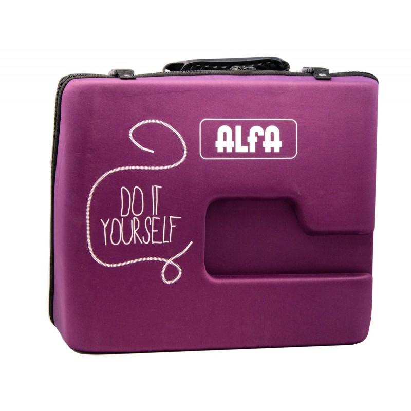 ... Trasera Funda para máquinas de coser Alfa Next TO U ... 0f6275fc2cb3