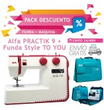 Alfa PRACTIK 9 + Funda STYLE TO U + ENVÍO GRATIS