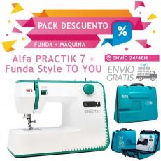 Alfa PRACTIK 7 + Funda STYLE TO U + ENVÍO GRATIS