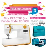 Alfa PRACTIK 5 + Funda STYLE TO U + ENVÍO GRATIS