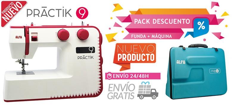 Pack PRACTIK 9 y funda de transporte